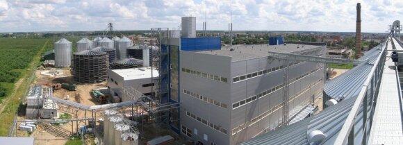 Bioetanolio gamykla Pasvalyje