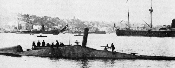 """Nordenfelt I"" klasės povandeninis laivas Turkijos laivyne"