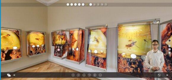 Virtualiame ture po LNDM Palangos gintaro muziejų