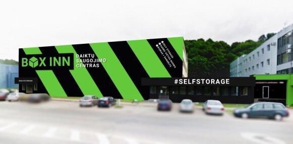 Daiktų saugojimo centras Kaune / Box Inn nuotr.