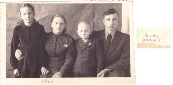 Sigitas Kudarauskas, Mosėdis, 1944