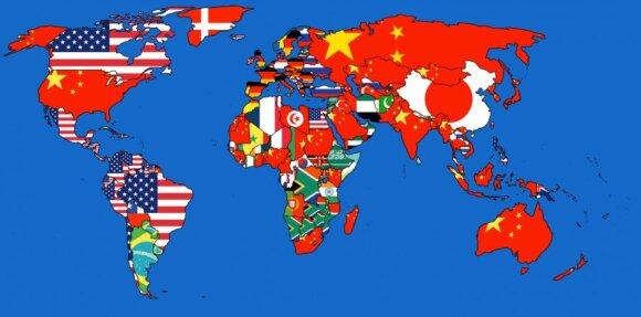 Import/eksport. Infografika: Kartografia ekstremalna