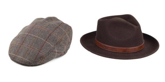 Klasikinės žvejybinės kepurės