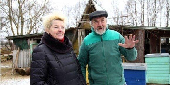 Pranas Matulis ir Raselė Boguslauskienė
