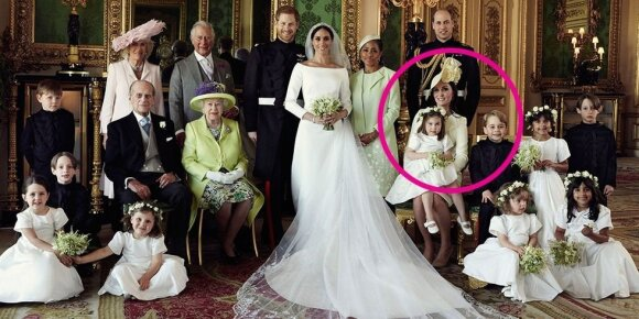 Karališkųjų vestuvių nuotraukų įdomybės