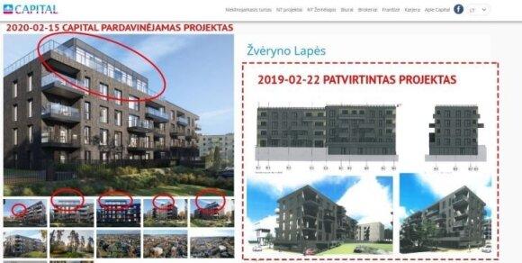 Вильнюсский муниципалитет предупреждает: в столице продают несуществующие квартиры
