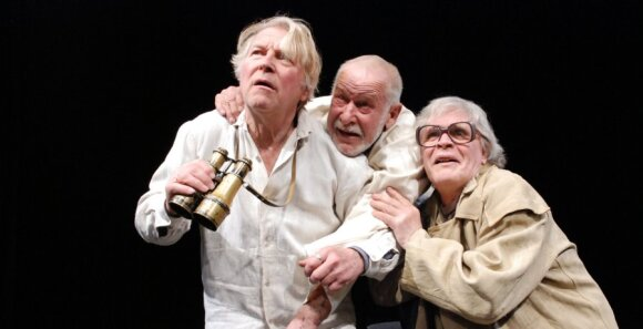 Витаутас Шапранаускас на сцене Русского драмтеатра Литвы - за гранью понимания