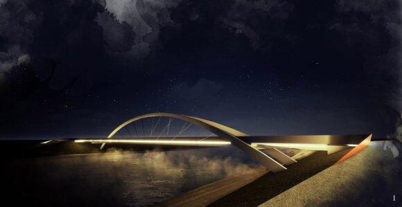 Besisukančių ratų tiltas // Lietuvos architektų sąjungos nuotr.