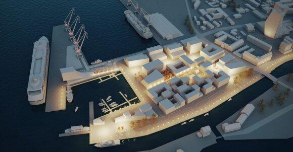 Klaipėdos uostas miestui jau pakuoja dovaną
