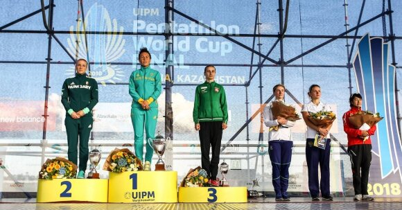 Venčkauskaitei-Juškienei – pasaulio taurės varžybų bronza