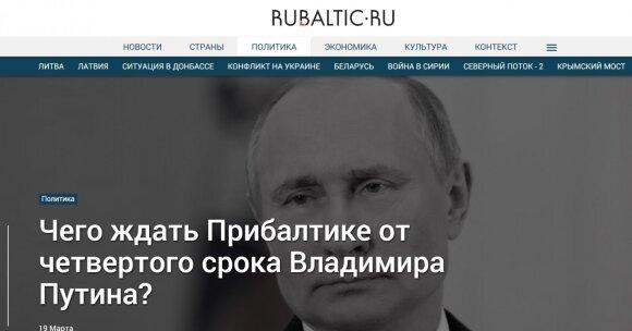 Po Putino pergalės Kremliaus ruporai nusitaikė į Lietuvą: kam jūs reikalingi, net JAV jus išduos