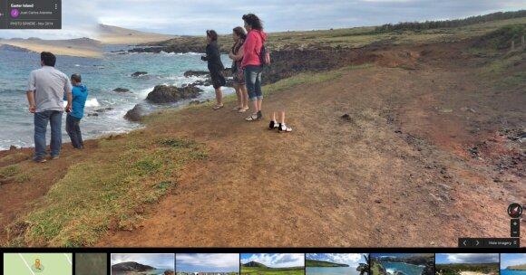 """Lietuvį prajuokino internete aptiktas Velykų salos """"stebuklas"""""""