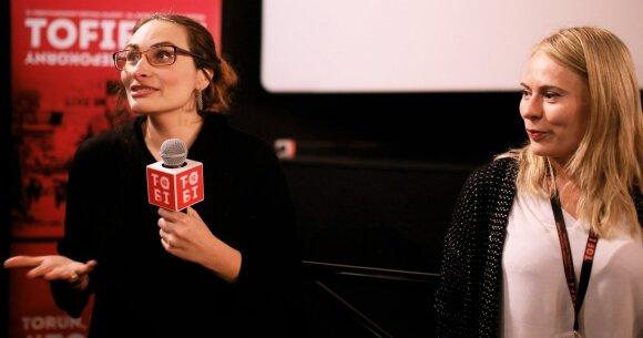 Eglė Vertelytė Tarptautiniame Tofifest kino festivalyje FOTO: Marcin Łaukajtys