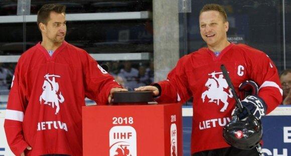 Dainius Zubrus ir Darius Kasparaitis