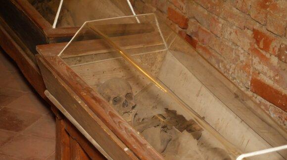 Požemiai su mumifikuotais palaikais