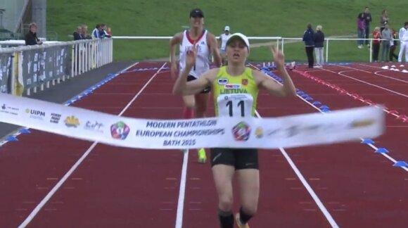 Lauros Asadauskaitės-Zadneprovskienės finišas
