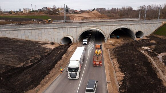 Amalių tunelis (Kauno miesto savivaldybės nuotr.)