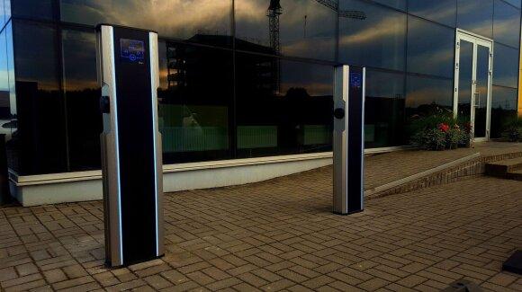 Elektromobilių įkrovos stotelės