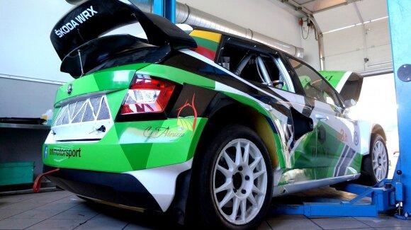 """N. Naujokaičio """"Škoda Fabia R5"""""""