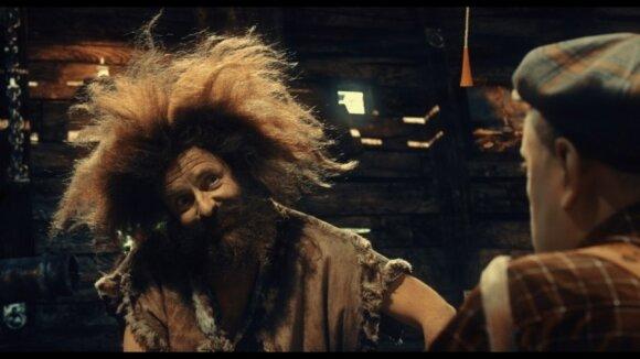 """Kokį garsųjį apšepėlį """"Gustavo nuotykiuose"""" vaidina Arūnas Sakalauskas?"""