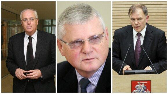 Arvydas Vidžiūnas, Vytautas Kvietkauskas, Vytenis Andriukaitis