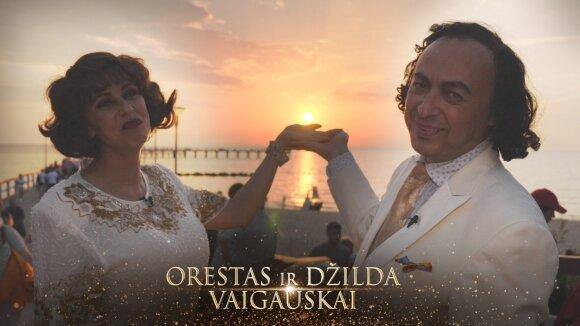 """Legendinės legendos"" Orestas ir Džilda Vaigauskai"