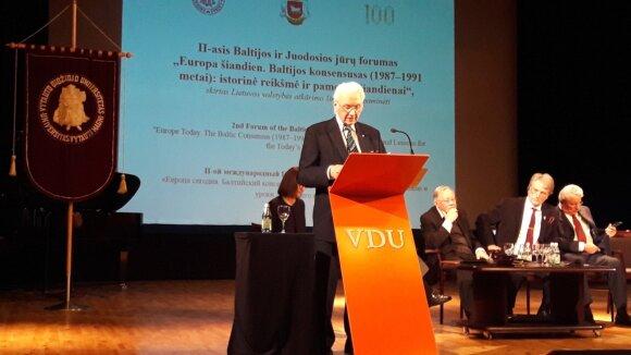 Балтийско-черноморский форум: в Европе появился человек, который любит переставлять пограничные столбы