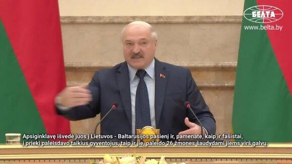 """Lukašenka artėja prie pavojingos ribos: į Lietuvą """"ginti moterų"""" žada paleisti ginkluotus radikalus"""