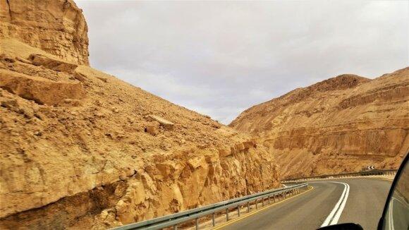 Per Negevo dykumą iki Eilato