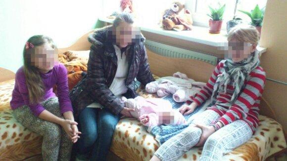 Namų netekusi nėščioji bandė žudytis, kol buvo ligoninėje – atėmė vaikus