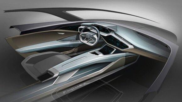 """Staigmena """"Audi"""" gerbėjams: gamins naują krosoverį, varomą elektra"""