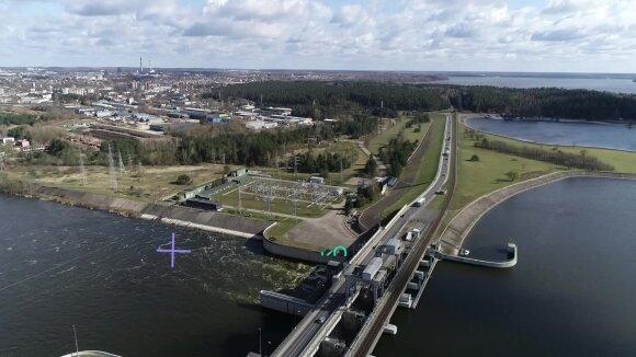 Kauno hidroelektrinė švenčia 60-metį: virtuali ekskursija ten, kur įprastai nepateksi