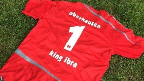 Zlatano Ibrahimovičiaus marškinėliai