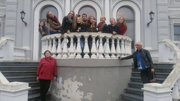 Kaltinėnų Aleksandro Stulginskio gimnazijos mokytojas Petras Gedvilas