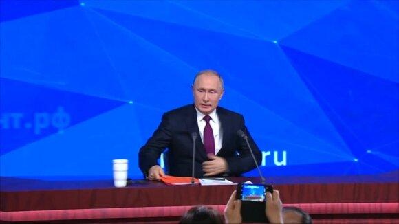Putinas apie JAV planą: tegu paskui necypia