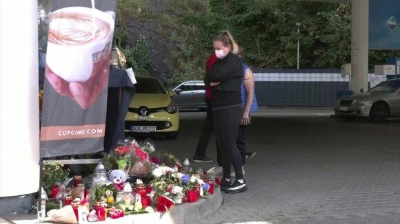 Vokietija šokiruota: degalinėje nužudytas kaukę prašęs užsidėti kasininkas