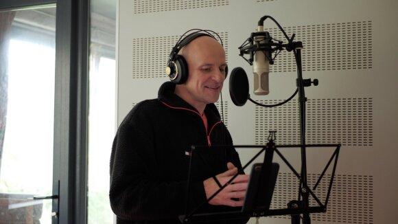 Aktorius, laidos vedėjas Juozas Gaižauskas