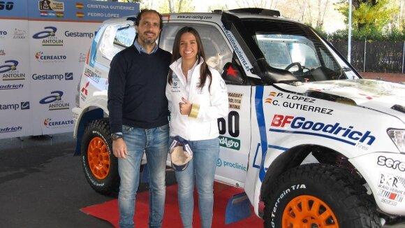 Cristina Gutierrez Herrero su šturmanu