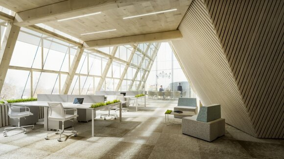 Architektūros konkurso Žvėryne I vieta