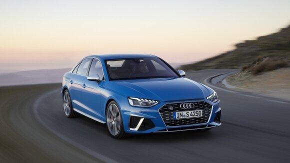"Atnaujintas ""Audi A4"" modelis"