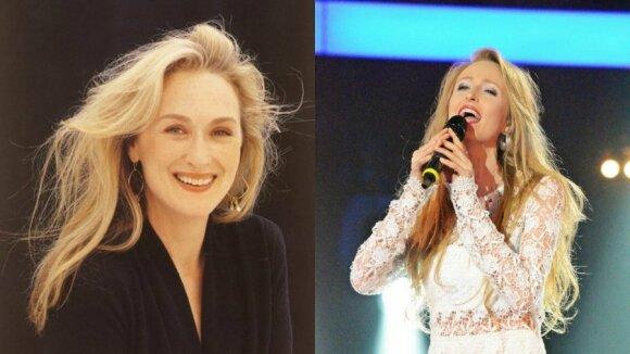 Meryl Streep ir Rugilė Daujotaitė