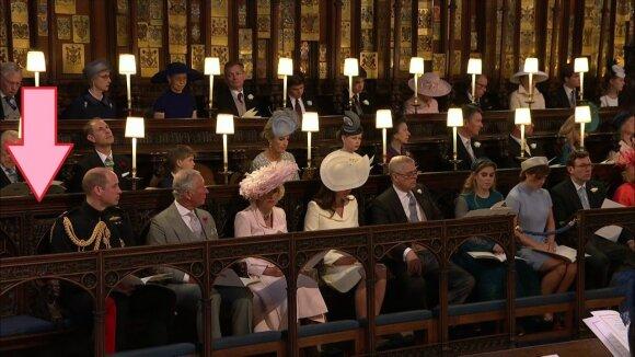 Štai kam buvo palikta laisva vieta Harrio ir Meghan Markle vestuvėse...