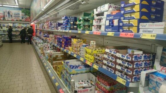 """Laukiant atidarymo Lietuvoje: kokios kainos Lenkijos """"Lidl""""?"""