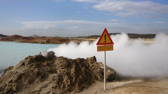 Islandai sukrėsti: turizmo žlugimas stabdo ekonominį stebuklą