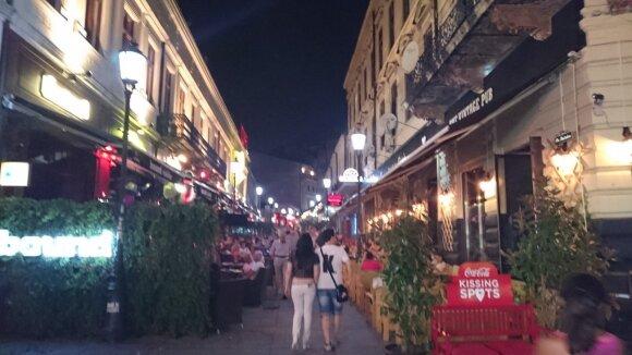 Bukarešto kavinės. Rumunija