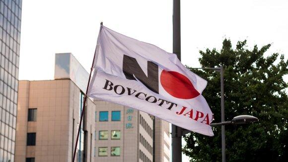 Kodėl Japonija ir Pietų Korėja kariauja savo prekybos karą