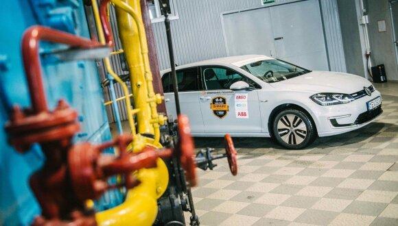 "Elektromobilis ""Volkswagen e-Golf"""