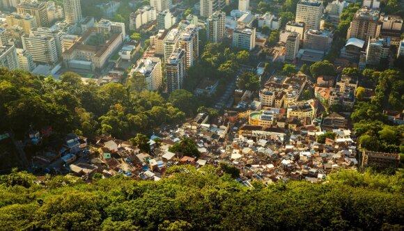 Turtinė nelygybė Rio Dežaneire