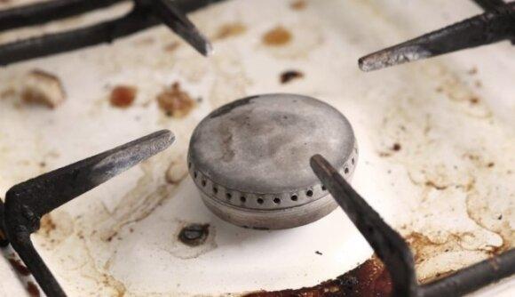 5 neįprasti viryklės valymo triukai, kuriuos norėtumėte žinoti jau seniai