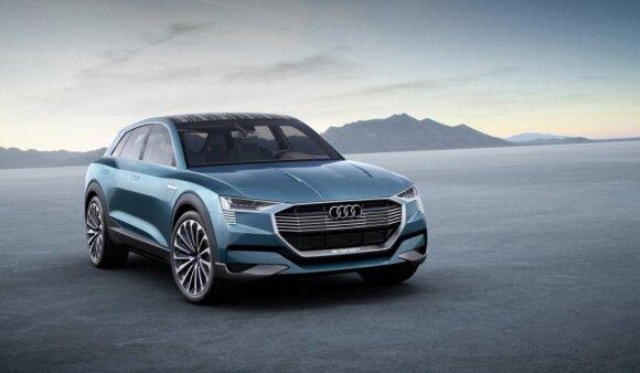 """""""Audi e-tron"""" koncepcija"""